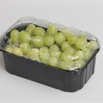 grapes duo color PET clamshell